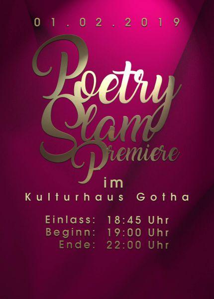Gotha Poetry Slam Premiere